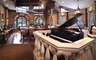 The Piano in the Library Bar