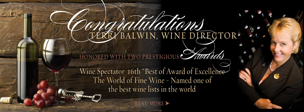 Wine Program Garners Awards