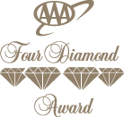 AAA four-diamond award
