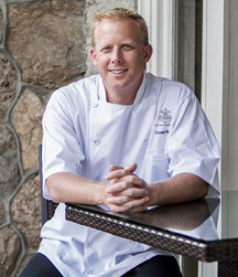 Corey W Heyer Bernards Inn Executive chef